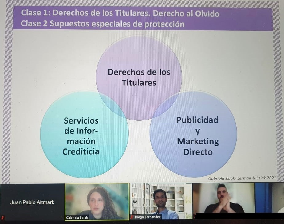 Gabriela Szlak lectured on Data Privacy, Credit Information Services and Direct Marketing