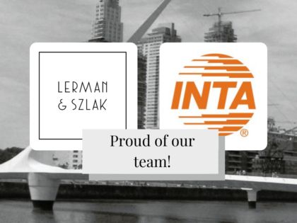 Lerman & Szlak's team has been appointed in different Committees of the International Trademark Association (INTA) for the period 2022